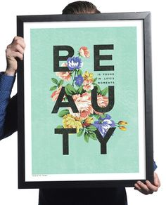 "Sevenly ""Beauty"" Print"