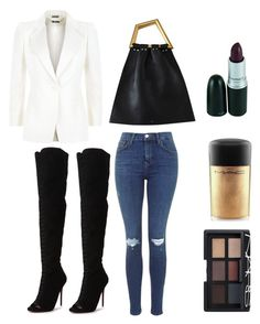 """""""Untitled #67"""" by tyra-breann on Polyvore featuring Alexander McQueen, Carvela, NARS Cosmetics and MAC Cosmetics"""