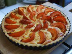 Swiss Apricot Custard Tart