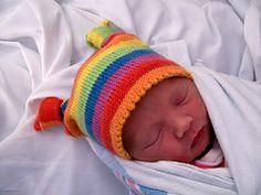 Ravelry: Knotty Baby Hat pattern by Amanda Schwabe