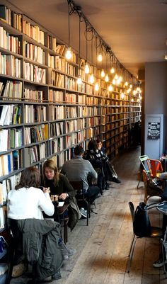 Merci Used Book Cafe