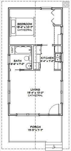 Tiny House Cabin, Tiny House Living, Tiny House Design, Small House Plans, House Floor Plans, Tiny Houses, Living Room, Eco Casas, Casas Containers