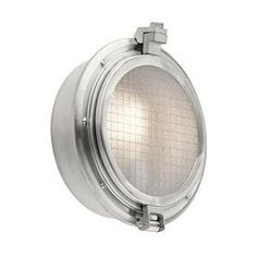 Kichler Lighting Clear Point 12.25-In H Brushed Aluminum Outdoor Wall