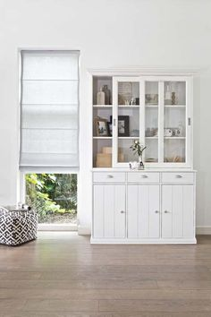 Pin from www. Home And Living, Living Room, Dining Room Hutch, China Cabinet, Home Furniture, My House, Bookcase, Sweet Home, New Homes