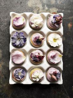 4himglory:  Spelt Flour Mini Floral Cupcakes | Twigg Studios on We Heart It.