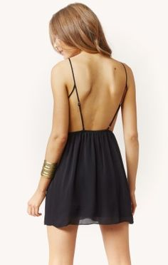 MARLEN BACKLESS BALLET DRESS