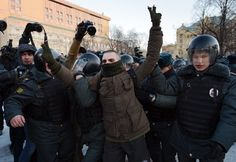 Thousands protest against Putin, but opposition momentum has slowed - The Washington Post