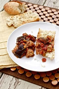 Eggplant Caponata by Smells Like Home, via Flickr