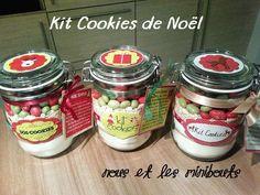 Le SOS Cookies spécial Noël! Voici une idée de cadeaux pour les fêtes de fin d'année, pour les copines, la cousine gourmande, la tante à qui...