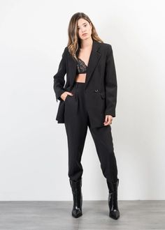 PANTALON AMPLE Trousers, Suits, Formal, How To Wear, Clothes, Style, Fashion, Fashion Ideas, Outfit