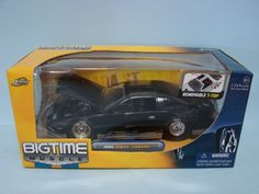 Jada Toys Bigtime Muscle 1985 Chevy Chevrolet Camaro IROC-Z Black 1/124 Scale Die Cast Car