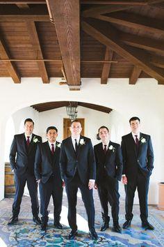 groom and groomsmen look captured by Aga Jones Photography http://www.weddingchicks.com/2014/03/03/crosby-club-wedding-aga-jones-photography/