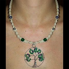 Wire Tree Life Hemp Necklace by ~Psy-Sub on deviantART