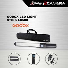 "GODOX LED LIGHT STICK The LED Light Stick from Godox looks like a light saber or wand and its ""magic"" is its versatility and sheer pleasure of use. The Light Stick is long with a diameter of and its 516 LEDs have a color temperature of Led Light Stick, Lightsaber, Ale, Accessories, Ale Beer, Ales, Beer, Jewelry Accessories"