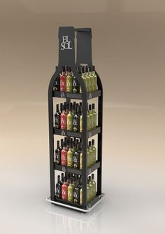 Com displays we have found interesting Shop Display Stands, Pos Display, Bottle Display, Wine Display, Display Design, Display Shelves, Product Display, Point Of Sale, Point Of Purchase