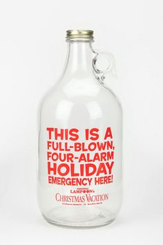 National Lampoon Growler #holiday #urbanoutfitters