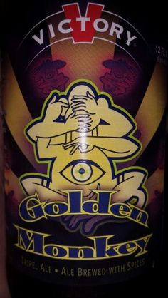 Victory Brewing Co Golden Monkey Tripel Ale 9.5% Alc.   Oh My!!!