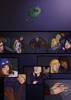 Runaways practice page by celestialhope