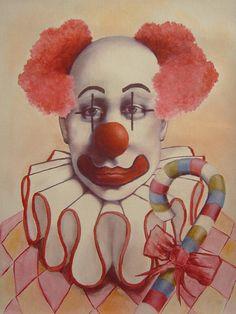 Clown Paintings by Diane Keaton - Pesquisa Google