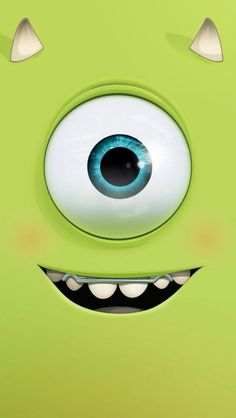 Funny cutie monster inc. - Tap to see more cute cartoon wallpapers! Quirky Wallpaper, Cartoon Wallpaper Hd, Tumblr Wallpaper, Funny Wallpapers, Screen Wallpaper, Disney Wallpaper, Wallpaper Backgrounds, Wallpapers Ipad, Monsters Ink