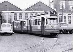 Tramremise GVB aan het Bellamyplein 1969. Foto: T.W. Hogendijk