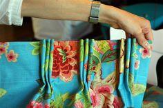 Pinch pleat curtain Tutorial