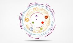 Digital circles concept Prezi Template with the name circle of time. Animated, colorful circles in motion. Universal Prezi template for any kind of topic. With animated background, as long as Prezi supports flash files. Download from Preziland.com