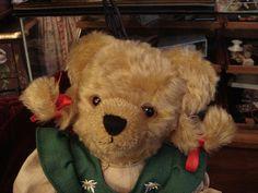 "Lovely Hermann German Teddy Bear ""HEIDI"" Lim. Ed."