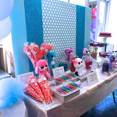 4 Most Creative Beanie Boo Birthday Party Ideas  - Ty introduced Beanie Boos in June 2009. These cuties are the same with the well-known Best Selling Amazon Beanie Babies but the only difference is tha... -  BeanieBoo_DessertsCupcakes33 .