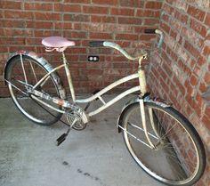 decoupage bike