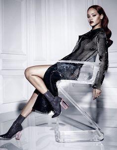 RIhanna para Dior Magazine (Foto: Reprodução)