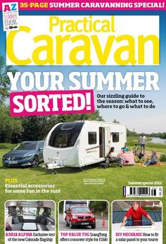 In this issue: <ul>  <li>Your summer sorted! Our sizzling guide to the season: what to see, where to go & what to do</li>  <li>PLUS! Essential accessories for some fun in the sun!</li>  <li>Adria Alpina - Exclusive test of the new Colorado flagship</li>  <li>Top-Value Tug - SsangYong offers crossover style for £16K!</li>  <li>DIY Mechanic - How to fit a solar panel to your tourer</li> </ul> PLUS!! 35-page summer caravanning special!