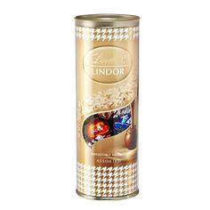 Chocolate Lindor Bombons Sortidos Fashion Tube 250g #Lindt #DutyFree #HoradaGula #Chocolate
