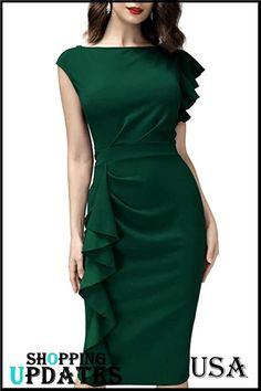 Elegant Midi Dresses, Trendy Dresses, Modest Dresses, Casual Dresses, Classy Dress, Classy Outfits, Chic Outfits, Long Skirt Outfits, Dress Outfits