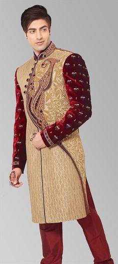 Sherwani the Indian Wedding Gown for Men | sherwani | Pinterest ...