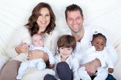 Mariska Hargitay and family