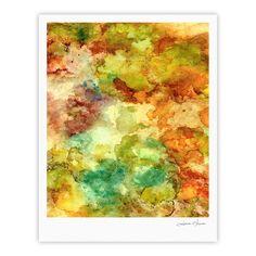 "Rosie Brown ""Fall Bouqet"" Yellow Orange Fine Art Gallery Print"