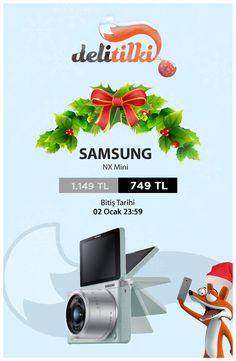 2015'in en güzel anlarını kaçırmayın diye, Samsung NX Mini Fırsatın Dibinde! www.delitilki.com