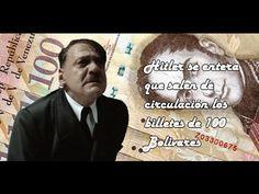 Hitler se entera que salen de circulación los billetes de 100 Bolivares