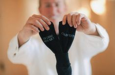 Grooms Socks in case you get cold feet the by SilkscreenExpress, $29.99