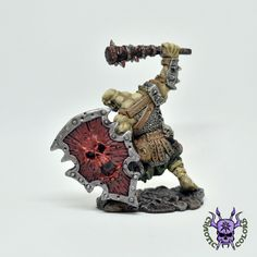D&D - Kagunk, Ogre Chieftain (by Reaper Miniatures)  #ChaoticColors #commissionpainting #paintingcommission #painting #miniatures #paintingminiatures #wargaming #Miniaturepainting #Tabletopgames #Wargaming #Scalemodel #Miniatures #art #creative #photooftheday #hobby #dungeonsanddragons #dnd #frostgrave #rpg #roleplay #paintingwarhammer #Warhammerpainting #warhammer  #ageofsigmar #whfb #fantasy #warhammerfantasy #Kingsofwar #kow #kingsofwarvanguard #Kagunk,OgreChieftain #Kagunk #Ogre… Warhammer Fantasy, Warhammer 40k, Dungeons And Dragons, Age Of Sigmar, Reaper Miniatures, Tabletop Games, Creative, Painting, Color