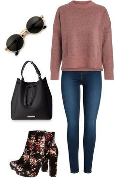 December Outfit Idea 12 - I thought I'd start putting some outfit ideas together for you. I know sometimes I get stuck with clothes. Here are the December outfit ideas.