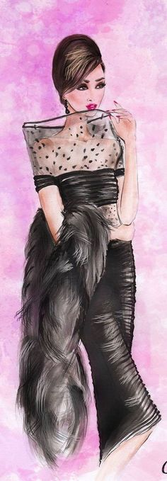 olivia elery fashion illustration