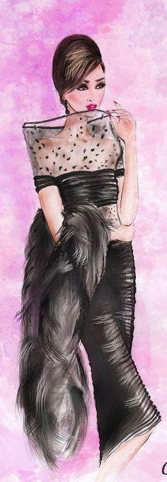 olivia elery fashion illustration