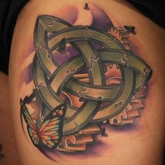 celtic knot butterfly tattoo - 35+ Awesome Celtic tattoo Designs  <3 <3