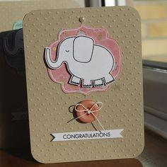elephant baby cards hhc