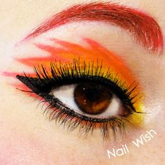 Nail Wish: Poke Makeup Challenge #3: Flareon