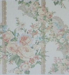 Rose Parfüm Floral  Baumwoll-Gewebe Quilt von SuesFabricNSupplies