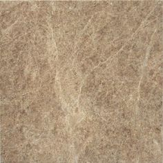 Faber 12-in x 12-in Emperador Marble Polished Brown and Cream Natural Stone Floor Tile | Lowe's Canada