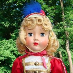 1952 Effanbee Blonde Honey Majorette Doll in Box All Original Beautiful #Effanbee